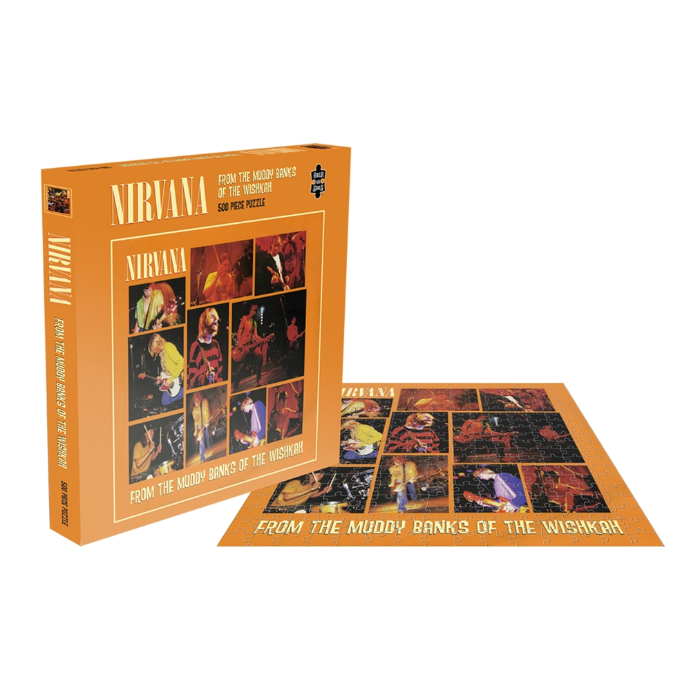 Nirvana - From The Muddy Banks Of The Wishkah (500 Piece Puzzle)