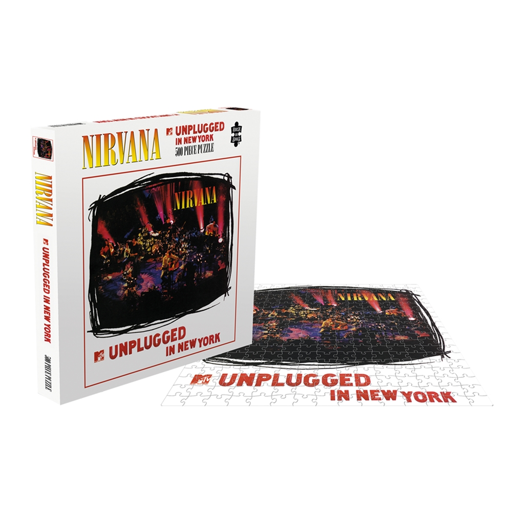 Nirvana - Unplugged In New York (500 Piece Puzzle)