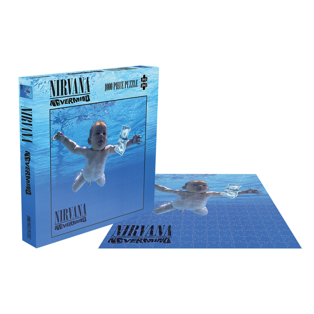 Nirvana - Nevermind (1000 Piece Puzzle)