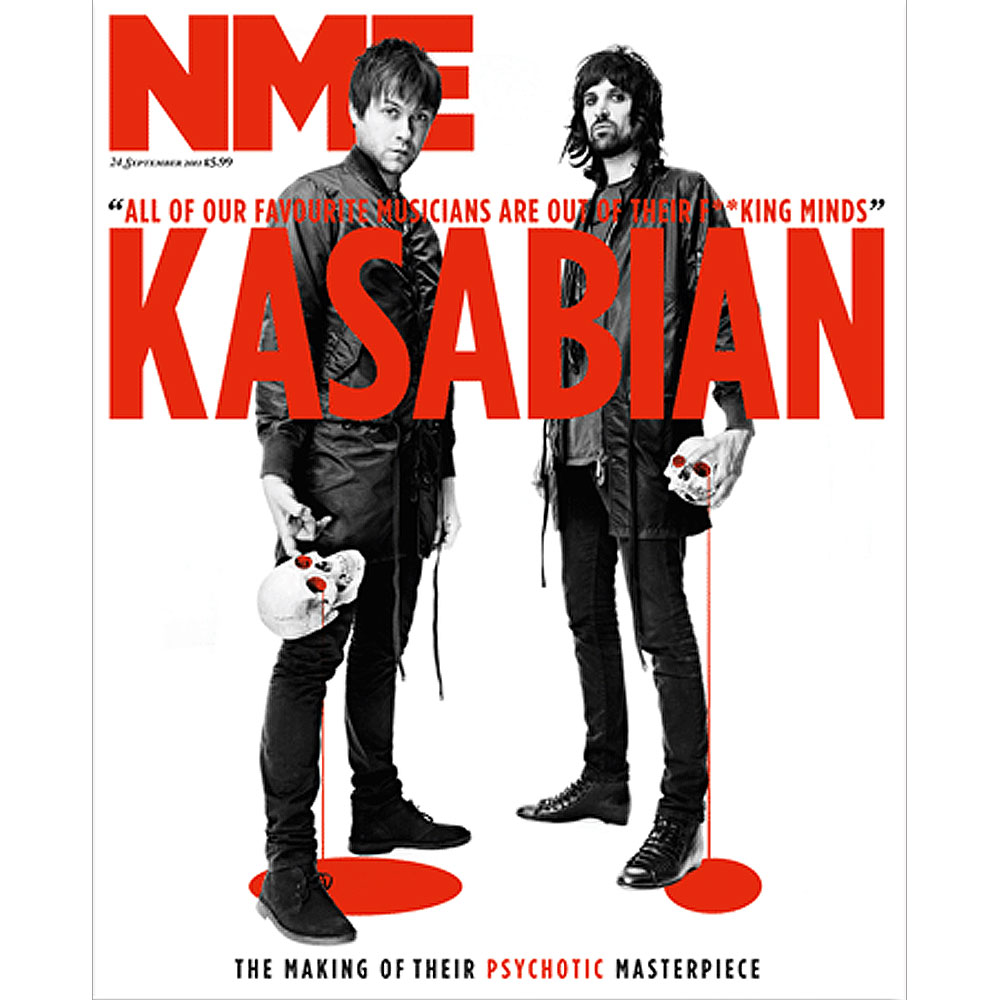 NME - Ltd Ed Kasabian Numbered Issue