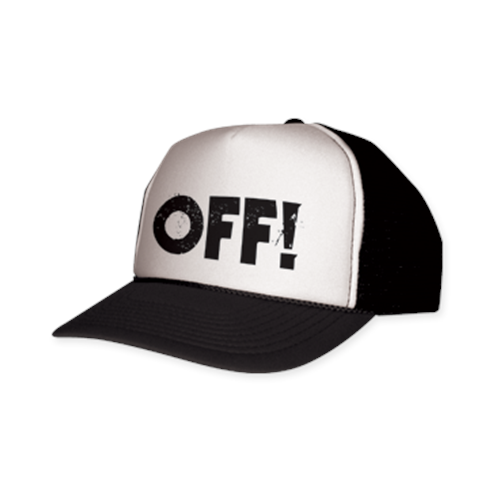 Off! - Logo (Black and White)