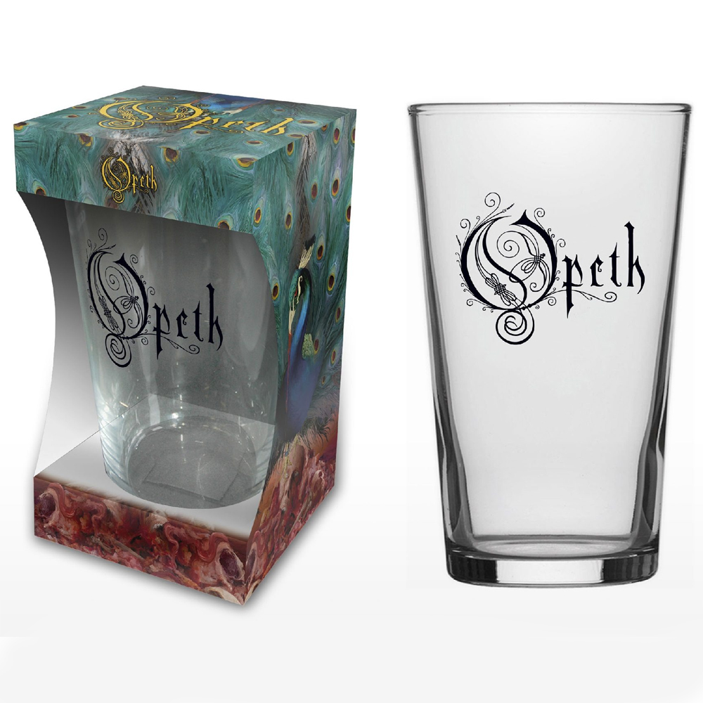 Opeth - Logo (Beer Glass)