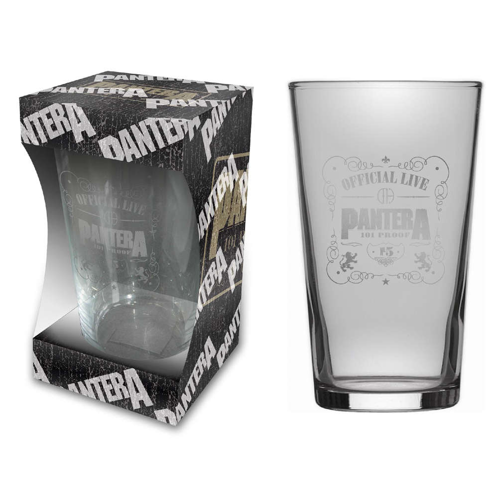 Pantera - 101 Proof (Beer Glass)
