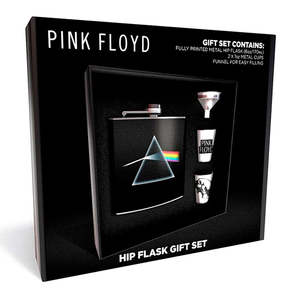 Pink Floyd - DSOM (Hip Flask 2 Cups & Funnel)