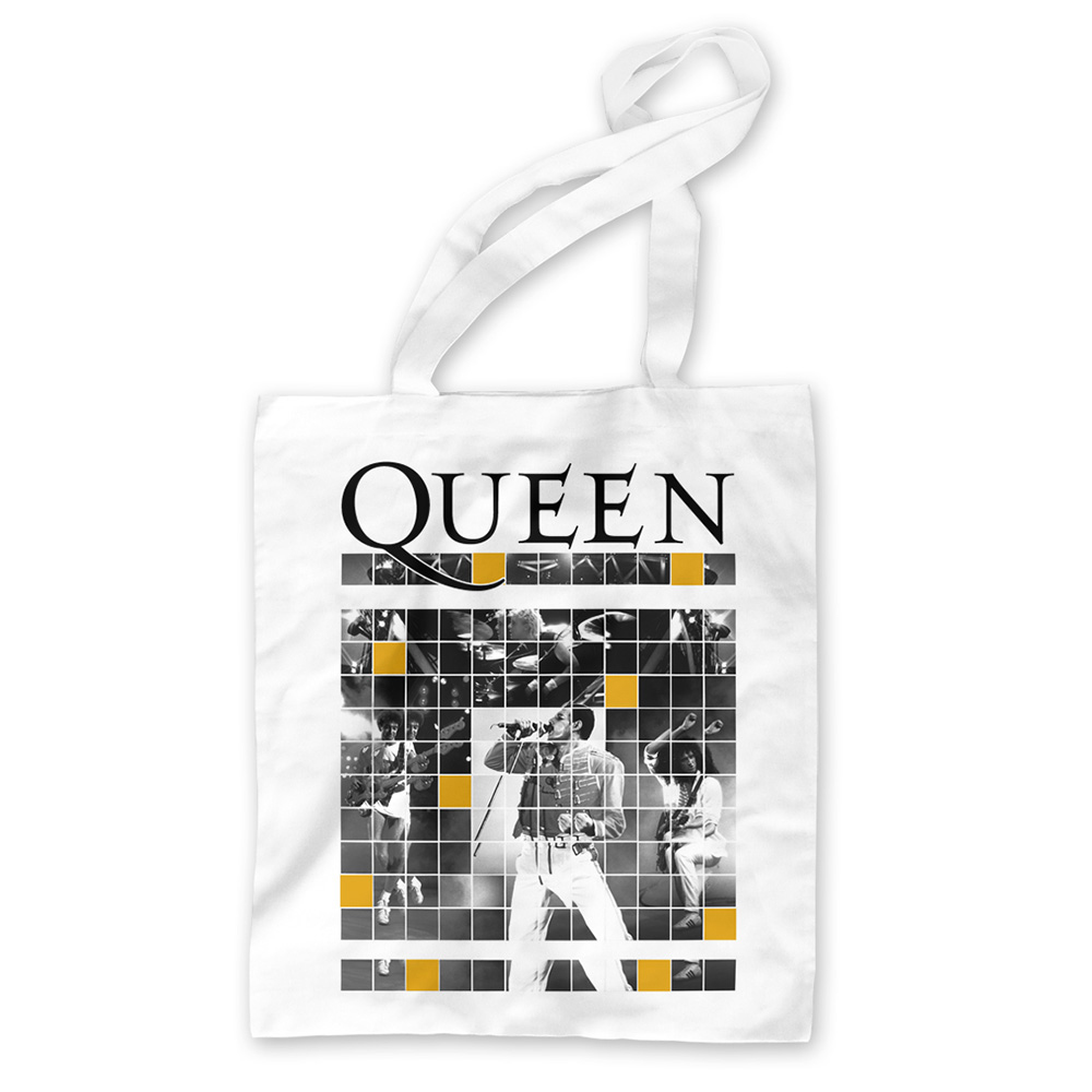 Queen - Square Boxes (White Tote)