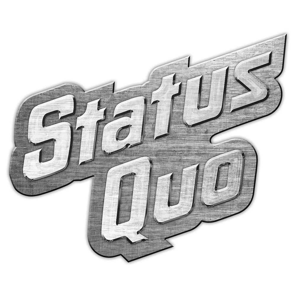 Status Quo - Logo Metal Pin Badge