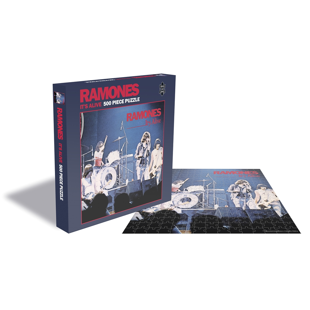 Ramones - It's Alive (500 Piece Jigsaw Puzzle)