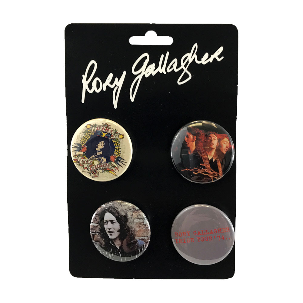 Rory Gallagher - Badge Set