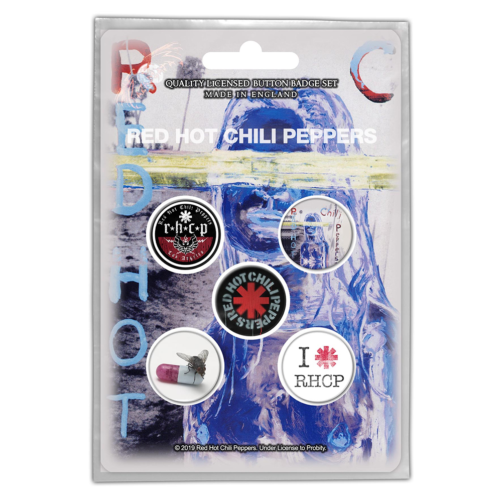 Red Hot Chili Peppers - By The Way (Button Badge Pack)