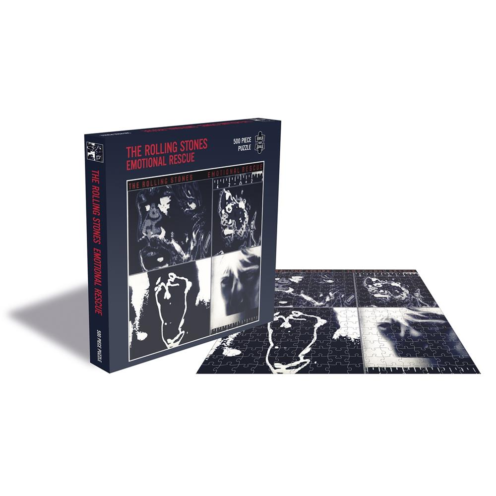 Rolling Stones - Emotional Rescue (500 Piece Puzzle)