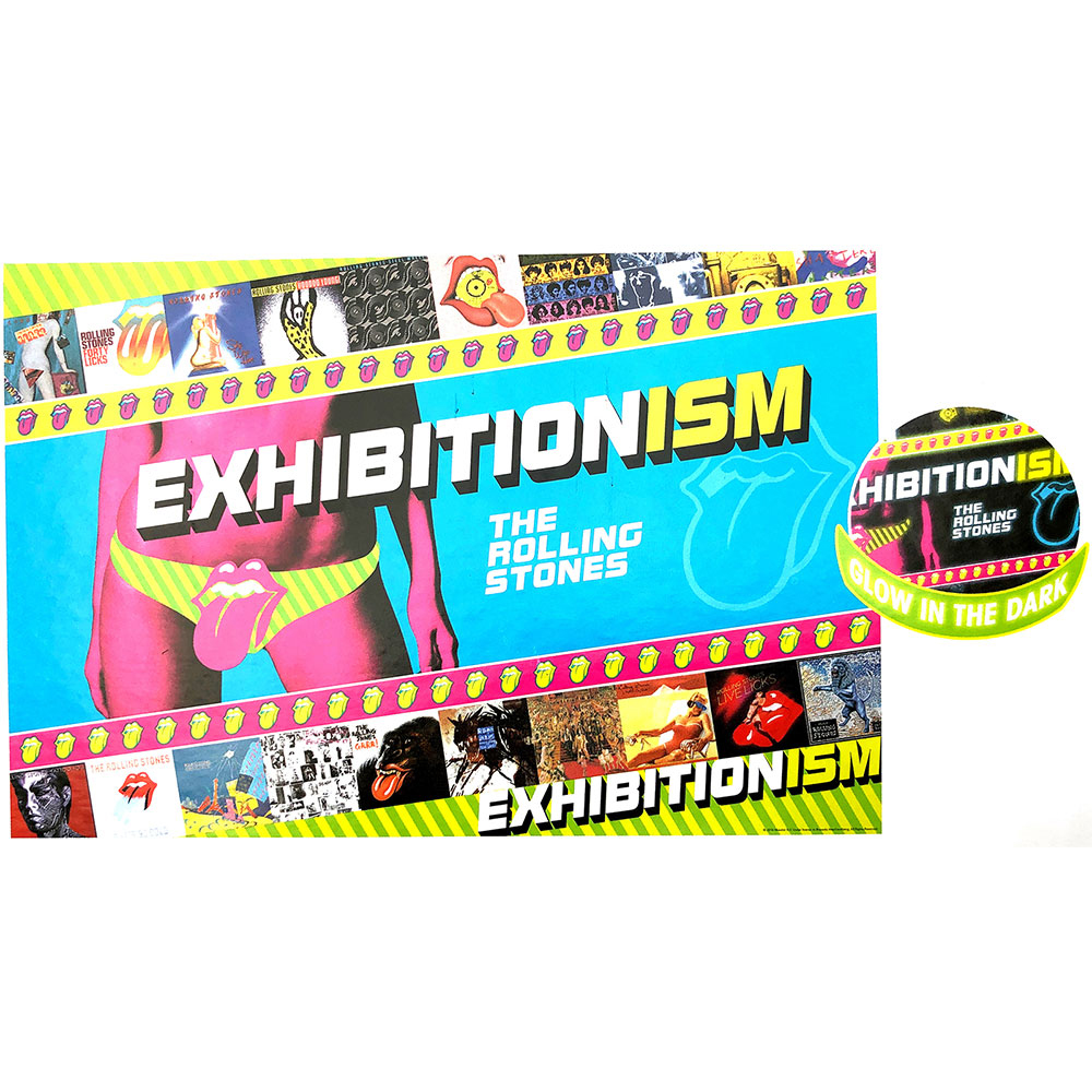Rolling Stones - Exhibitionism Glow In The Dark (500 Piece Puzzle)