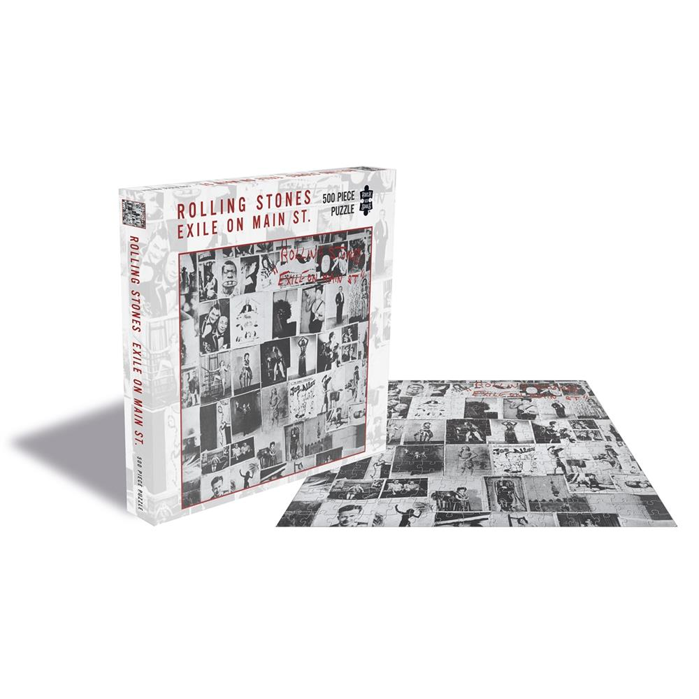 Rolling Stones - Exile On Main St. (500 Piece Puzzle)