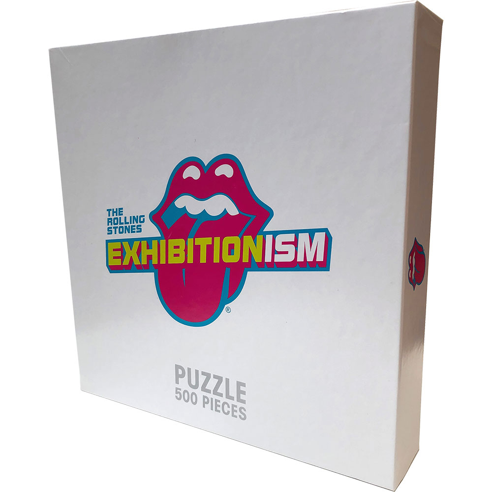 Rolling Stones - Exhibitionism Record Round (500 Piece Puzzle)