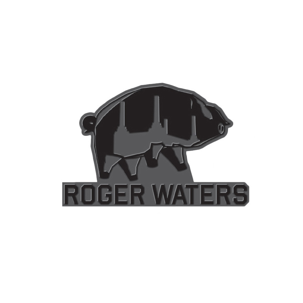 Roger Waters - RW Pig Enamel Pin