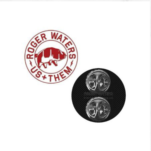Roger Waters - UT Red Enamel Pin