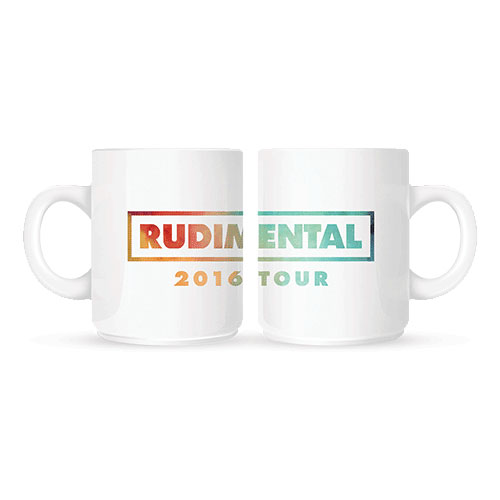 Rudimental - Colour Logo (White)