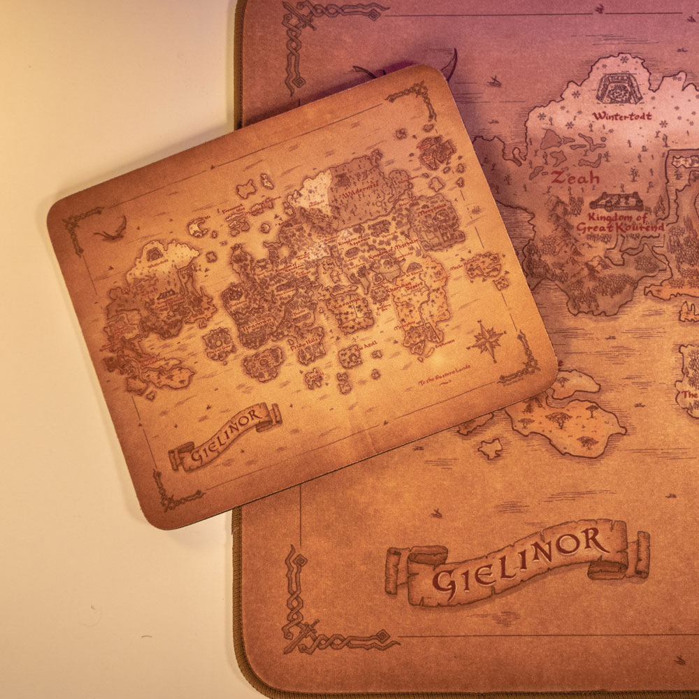 RuneScape - Map of Gielinor (Mouse Mat)