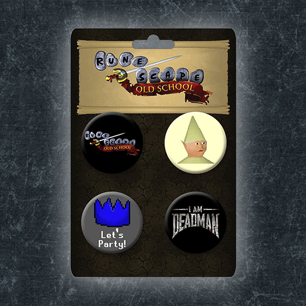 RuneScape - Old School Badge Set
