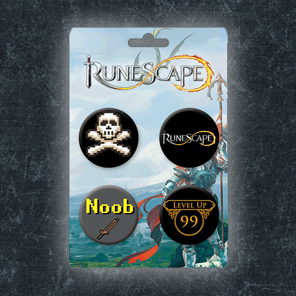 RuneScape - Runescape Badge Set