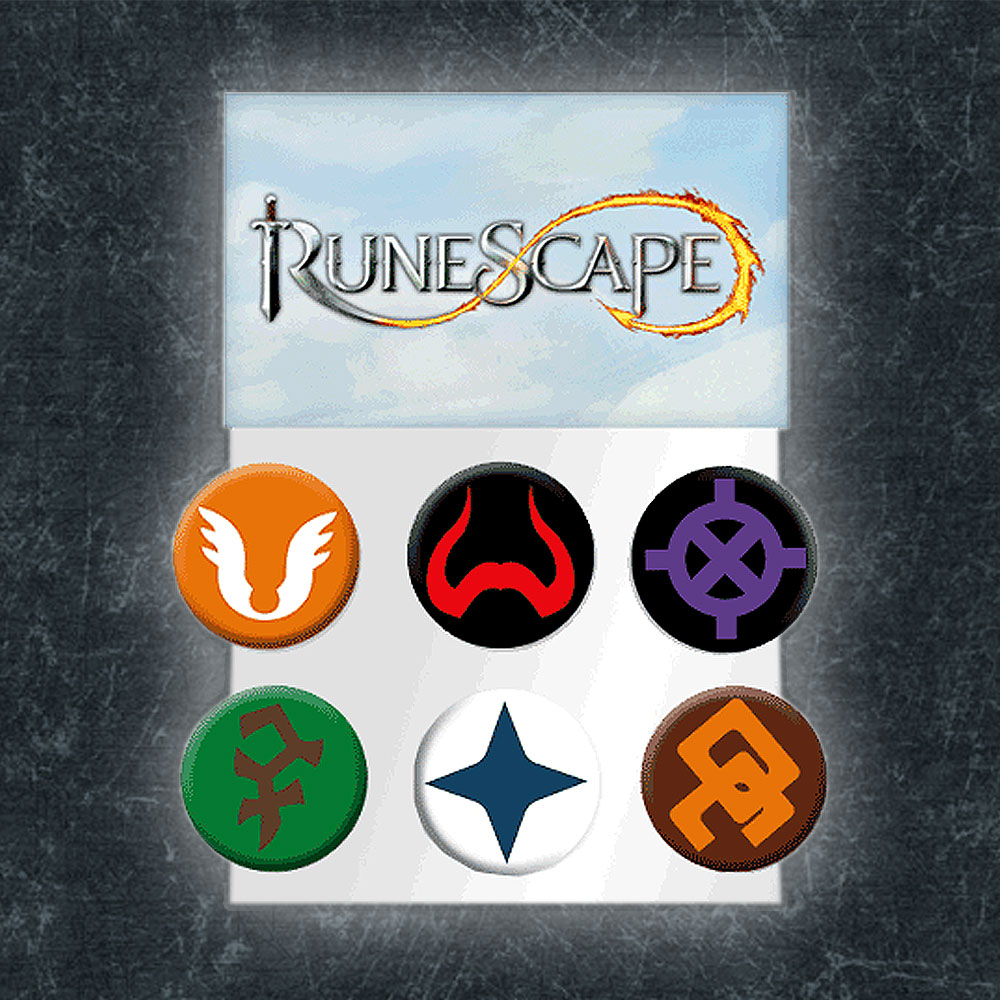 RuneScape - Gods Badge Set