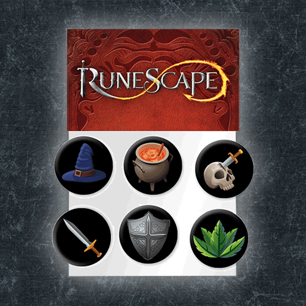 RuneScape - Skills Badge Set