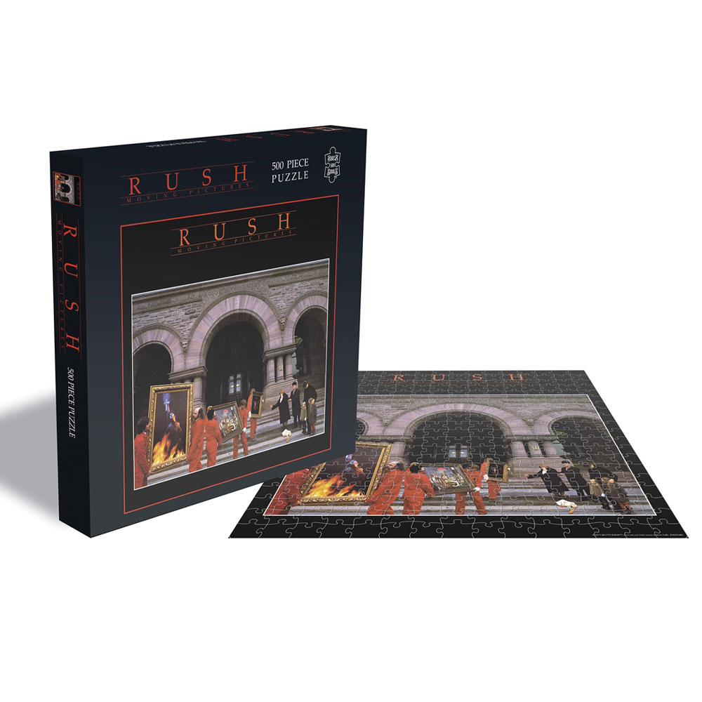 Rush - Moving Pictures (500 Piece Jigsaw Puzzle)