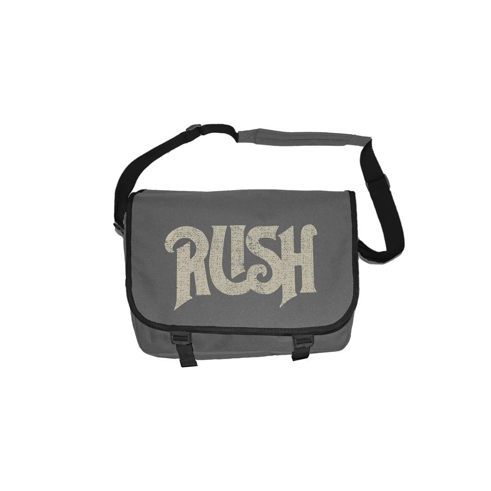 Rush - Vintage Logo (Grey)