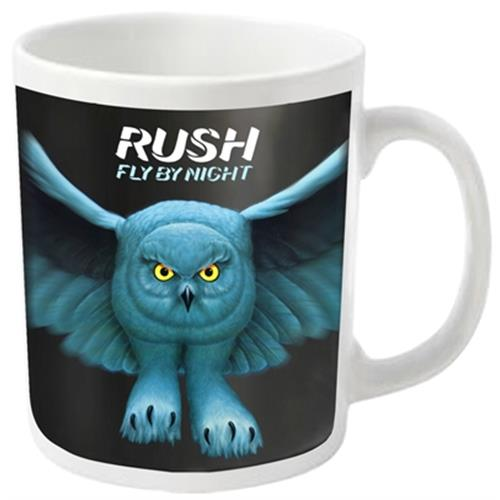 Rush - Fly By Night (White)
