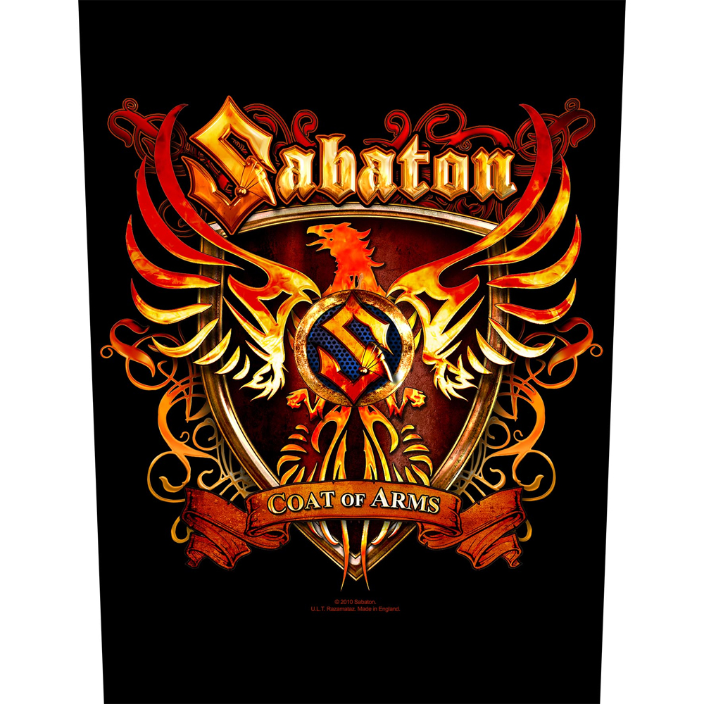 Sabaton - Coat Of Arms (Backpatch)