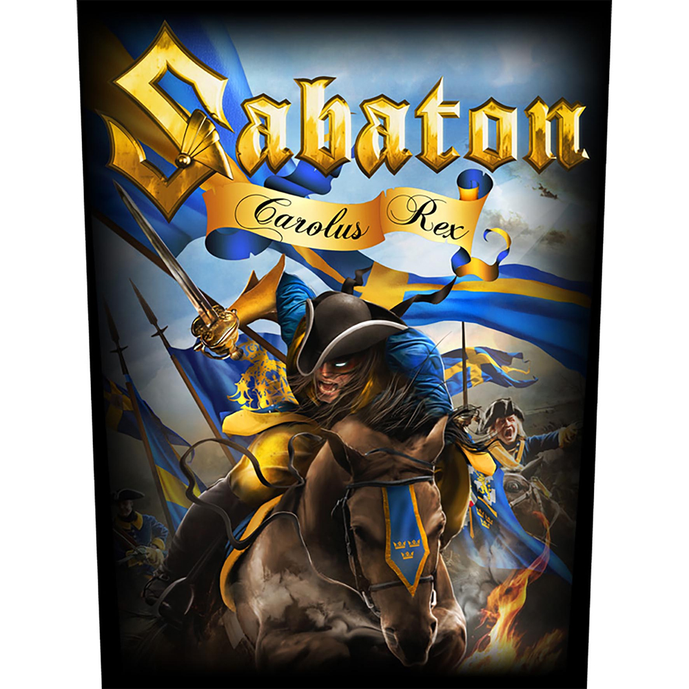 Sabaton - Carolus Rex  (Backpatch)