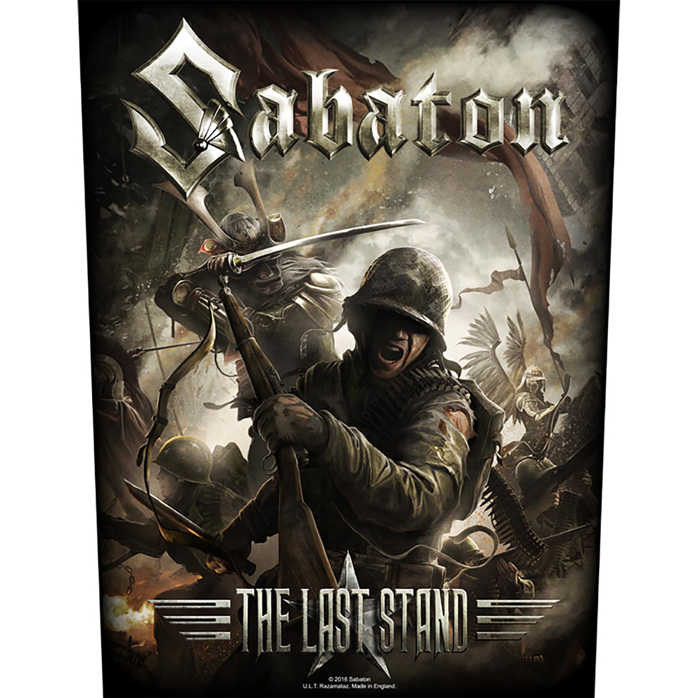 Sabaton - The Last Stand (Backpatch)