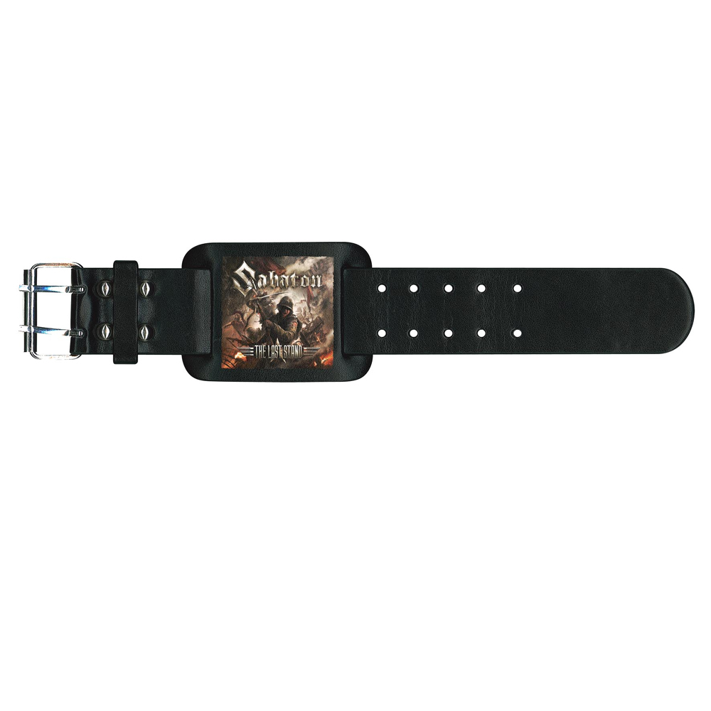 Sabaton - The Last Stand (Leather Wristband)