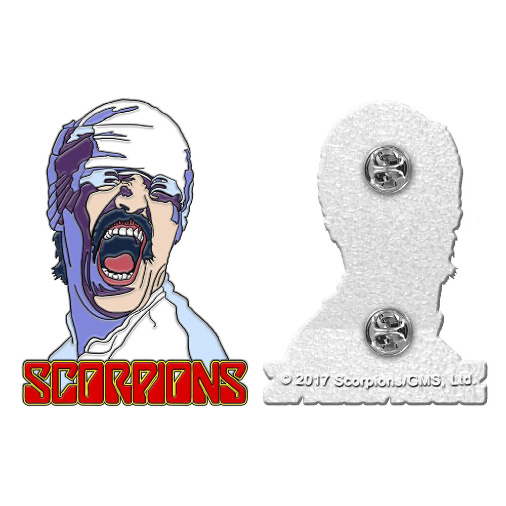 Scorpions - Blackout Enamel Pin