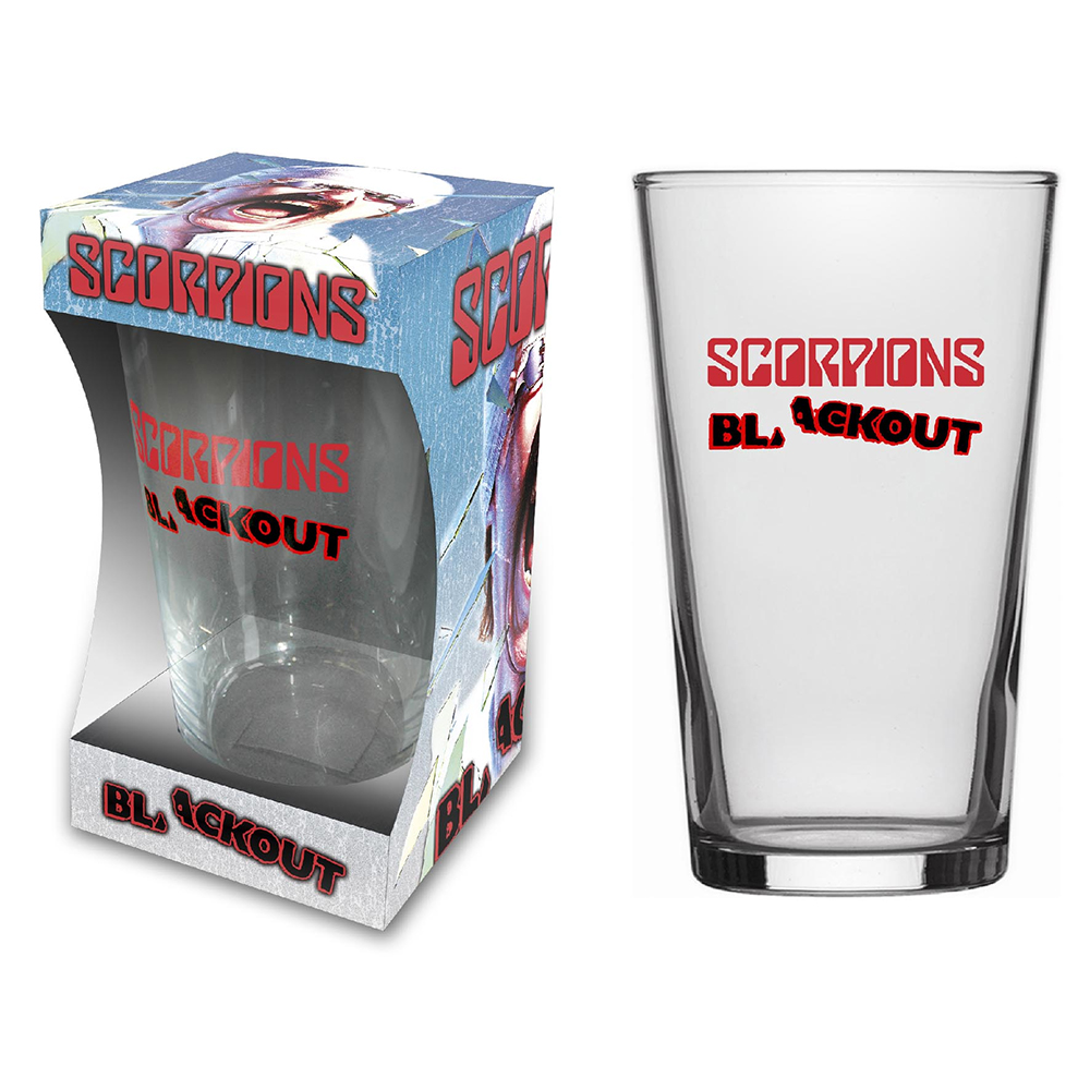 Scorpions - Blackout (Beer Glass)