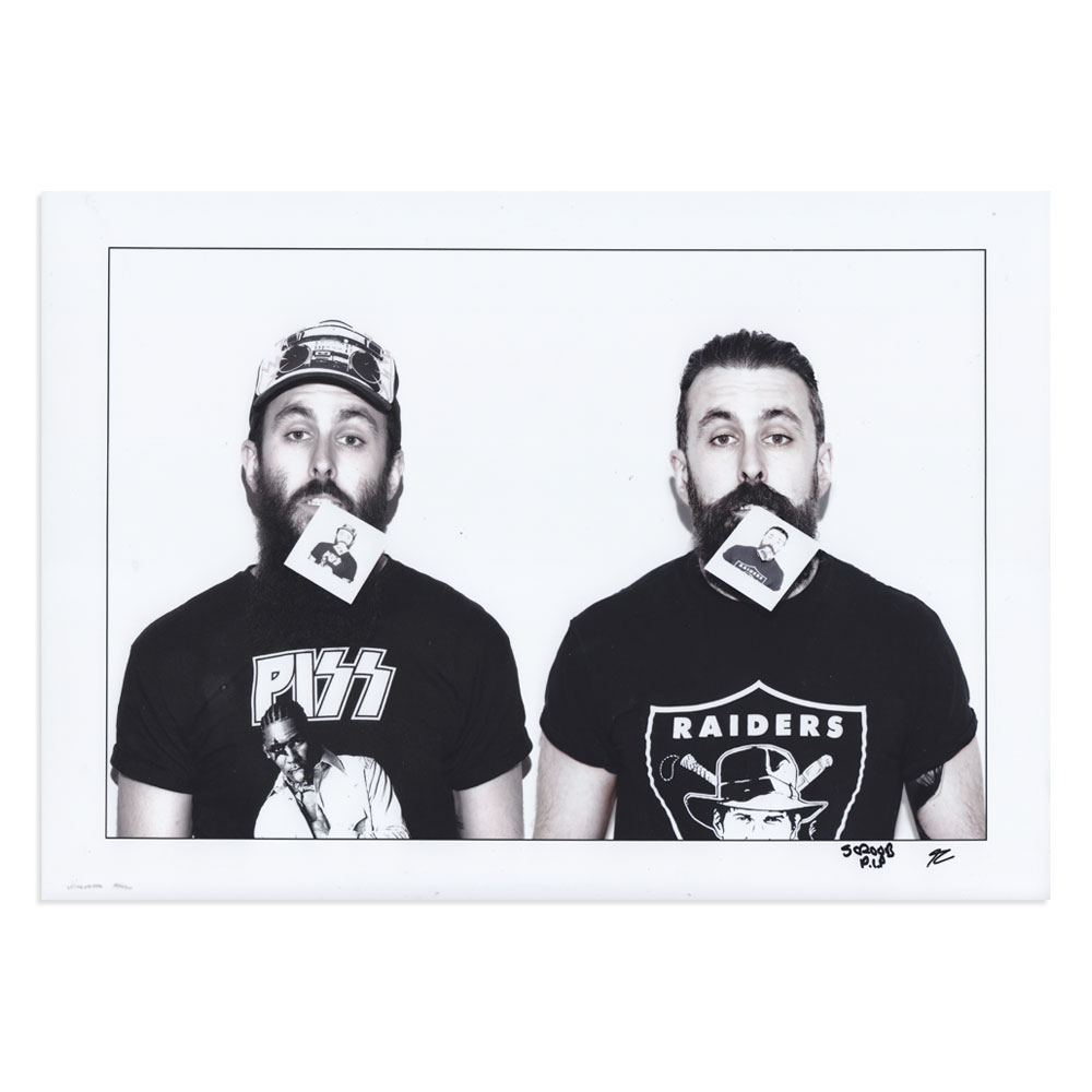 Scroobius Pip - Polaroid Mouth [SIGNED]