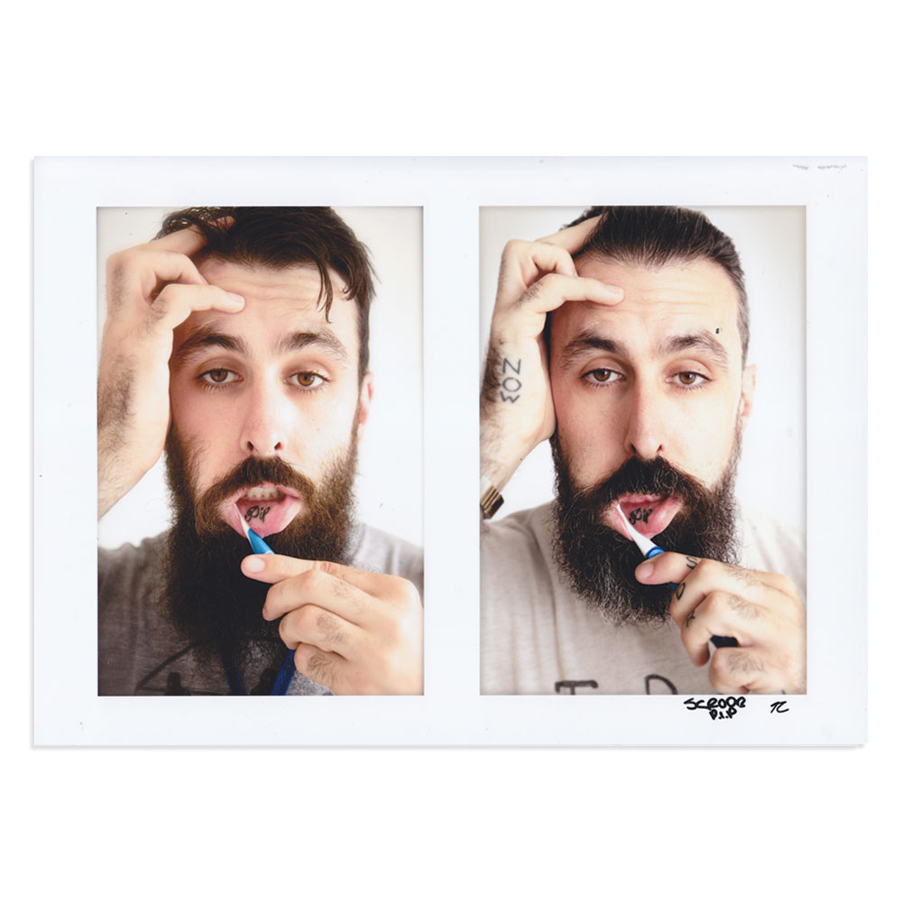 Scroobius Pip - Toothbrush Mouth [SIGNED]
