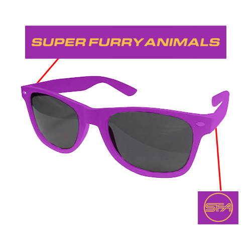 Super Furry Animals - SFA Logo (Purple)