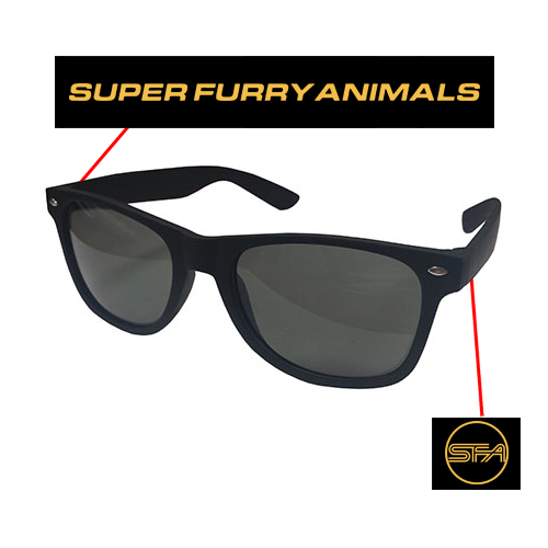 Super Furry Animals - SFA Logo (Black)