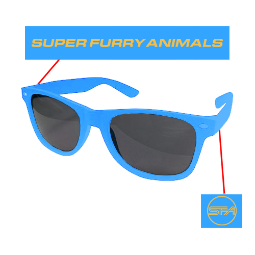 Super Furry Animals - SFA Logo (Blue)