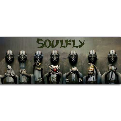 Soulfly - Omen (White)