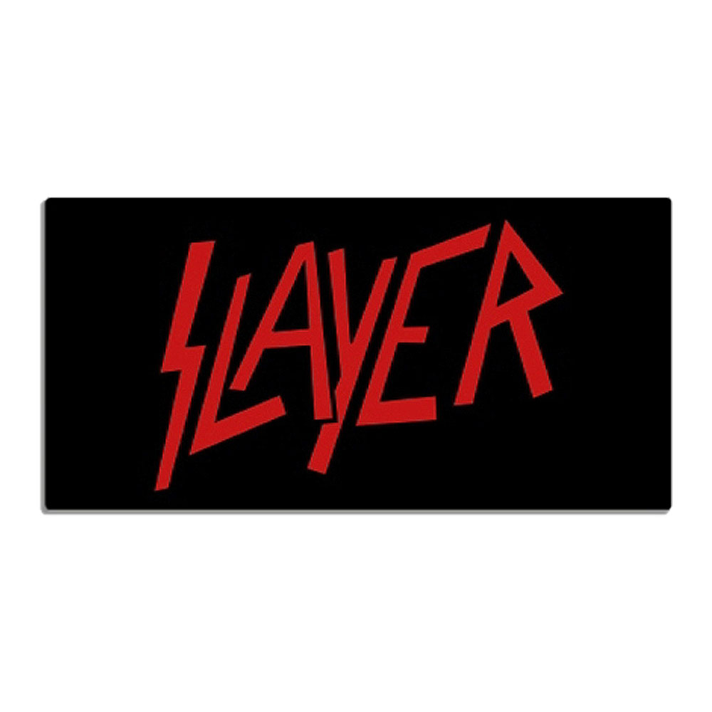 Slayer - Red Logo Beach Towel