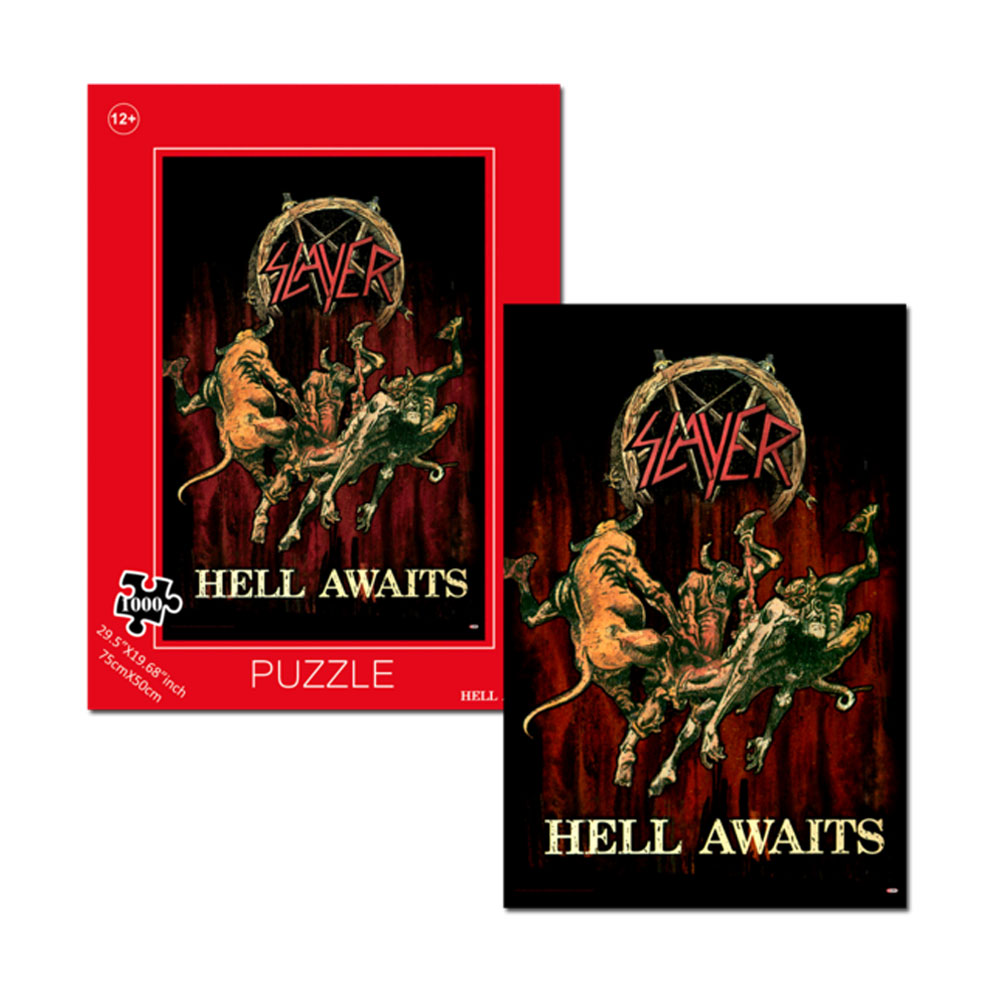 Slayer - Hell Awaits Jigsaw