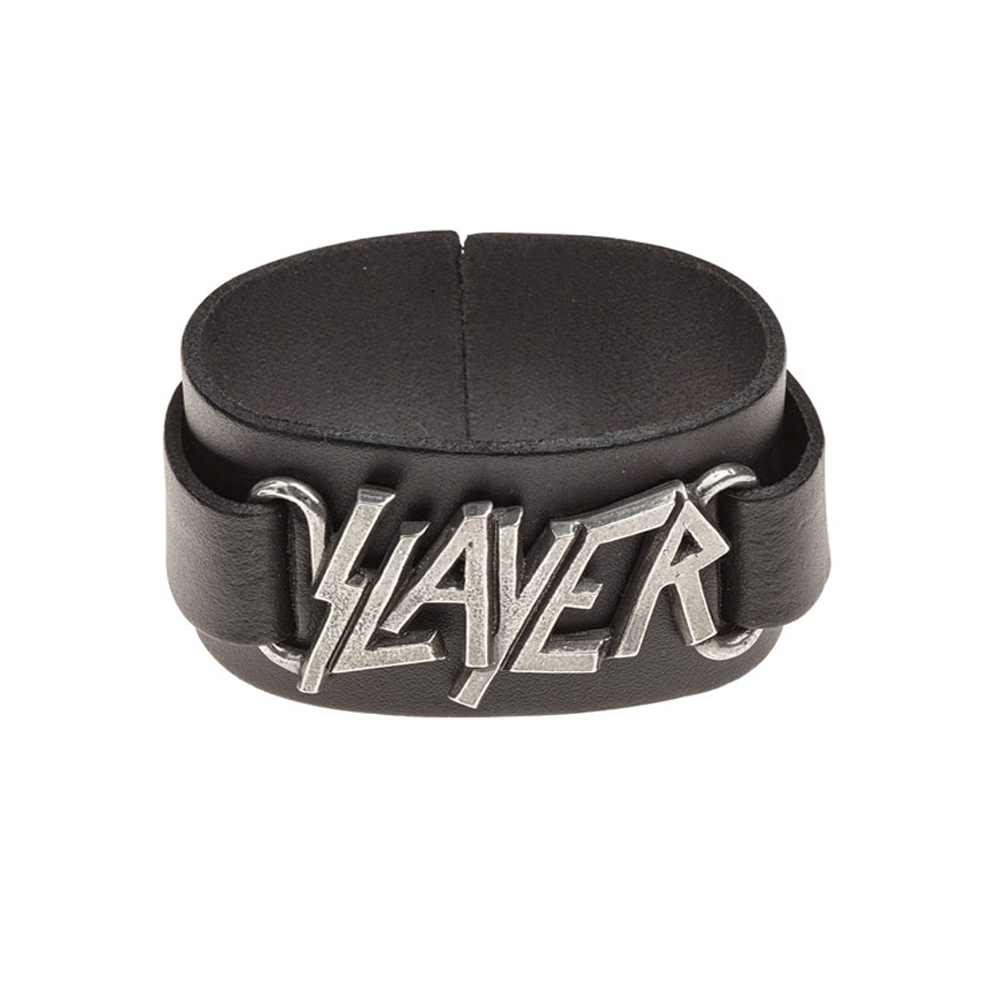 Slayer - Logo Leather Wrist Strap
