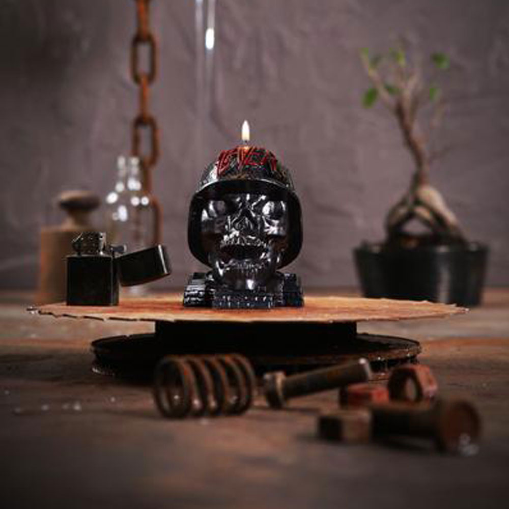 Slayer - Wehrmacht Skull Candle