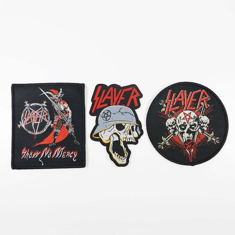 Slayer - Final Tour Woven Patch Set