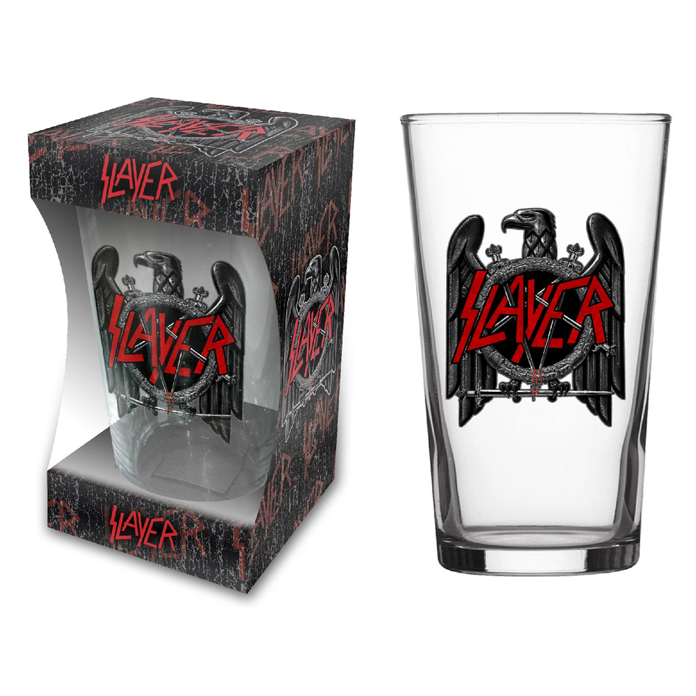Slayer - Eagle (Beer Glass)