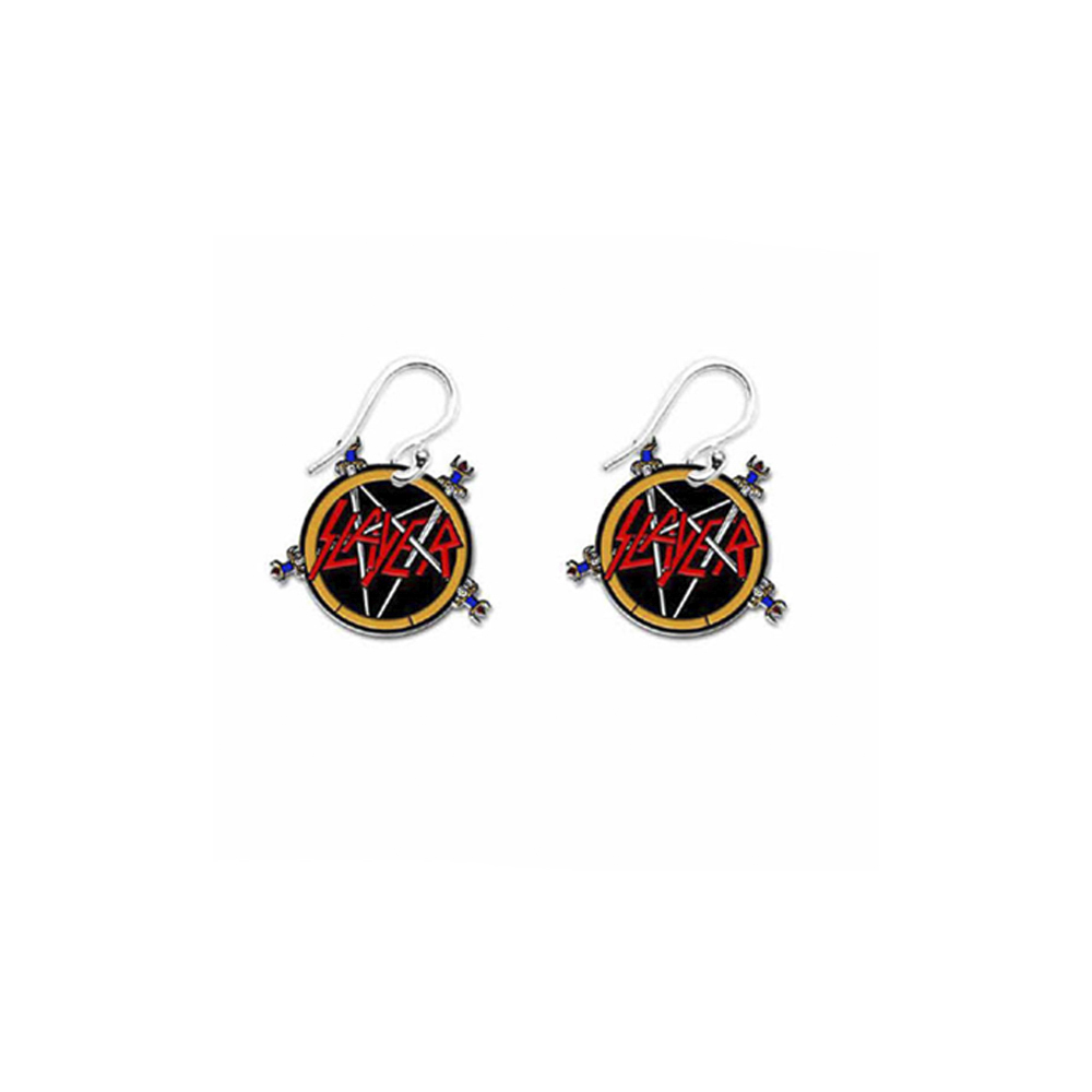 Slayer - Pentagram Earrings