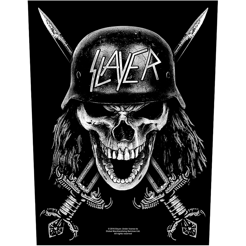 Slayer - Wehrmacht Woven Back Patch