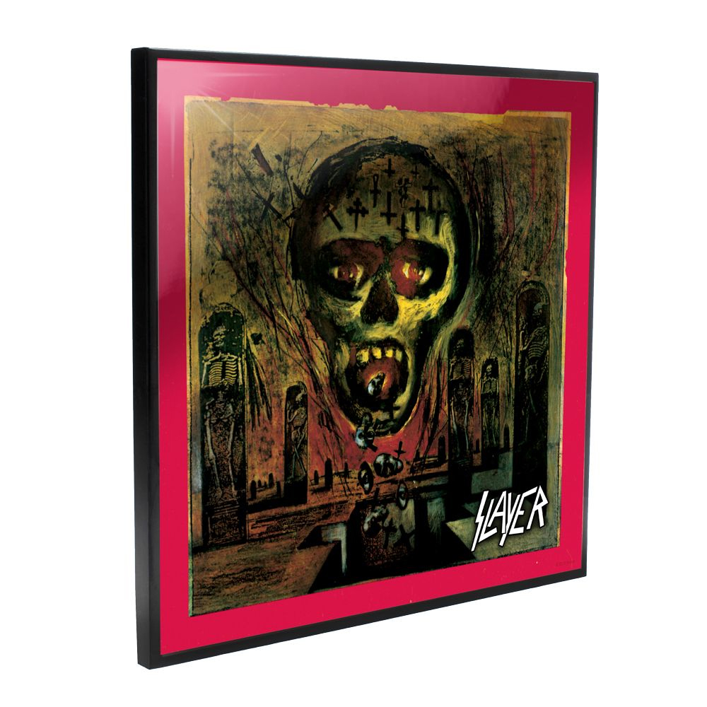 Slayer - Seasons In The Abyss Album Cover (Crystal Clear Wall Art)