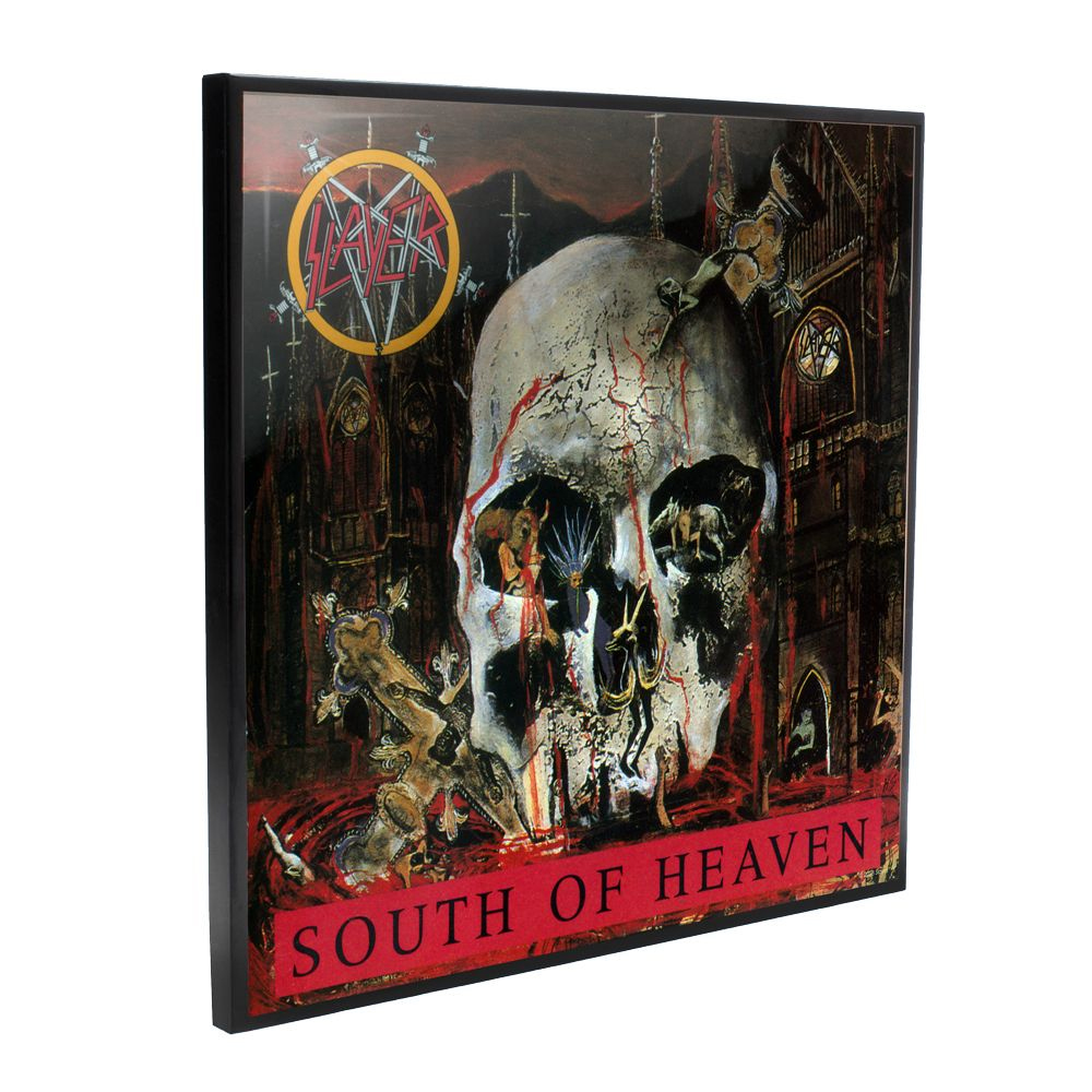 Slayer - South Of Heaven Album Cover (Crystal Clear Wall Art)